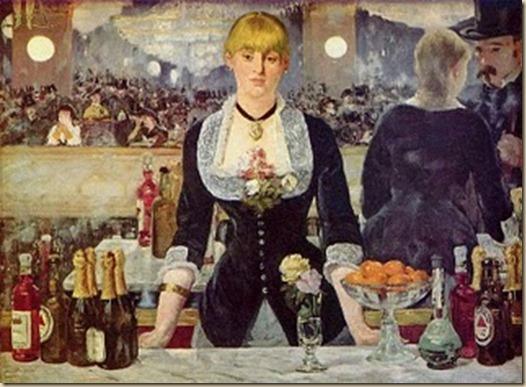 Edouard Manet, Un bar aux Folies-Bergère, 1882