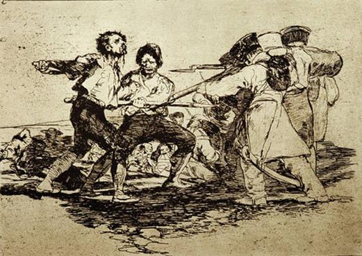 Goya Os desastres da guerra - com razão ou sem ela