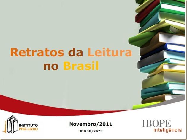 retratos leitura 2012 capa