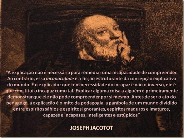 jacotot explicação