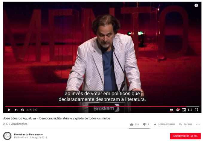 agualusa democra-litera YT